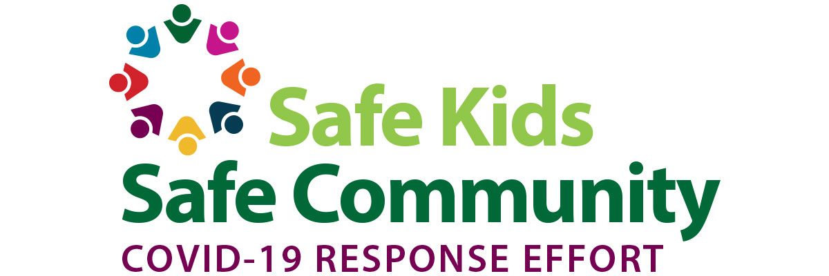 Safe Kids Safe Community logo.