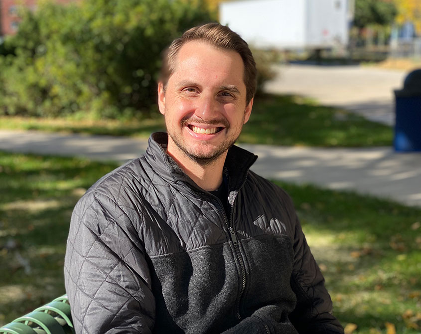 Atwater Elementary School Principal Nate Schultz