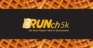 bRUNch 5k waffle logo.