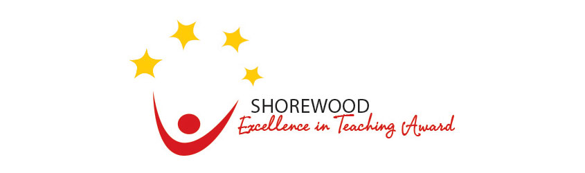Shorewood Teacher Award logo.