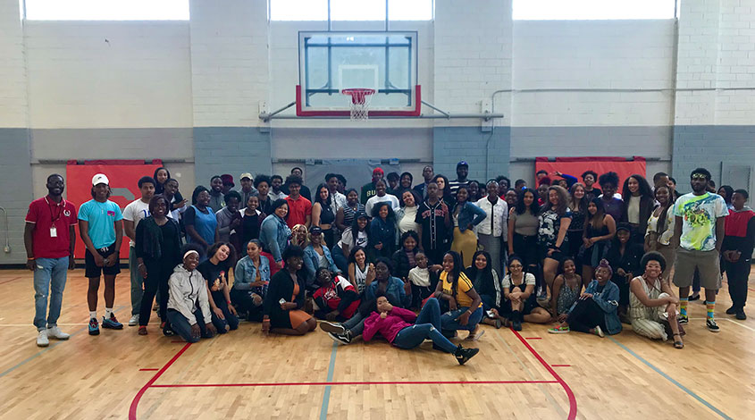 YRU mentorship program with SIS students.