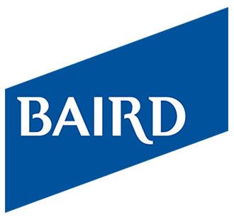 Baird logo.